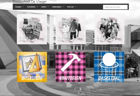 Scholen website