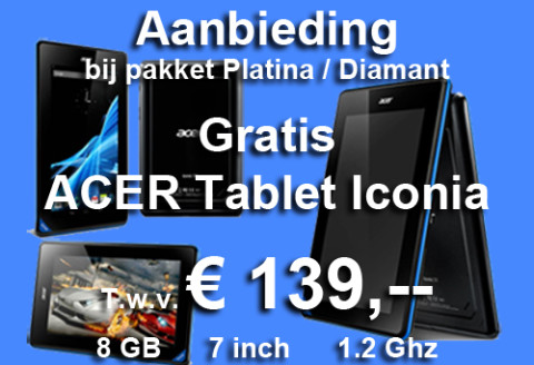 GRATIS Acer Tablet Iconia